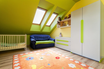 Urban apartment - child's room