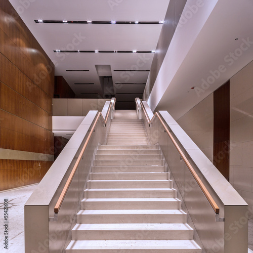 stair in modern office