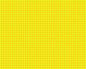 Tischdeckenmuster mit gelben und orangen Karos