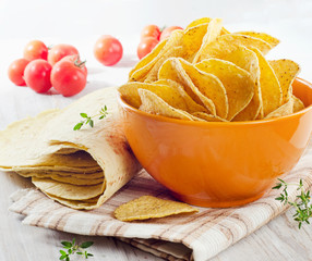tortillas and chips