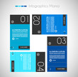Infographic template design to display your data.