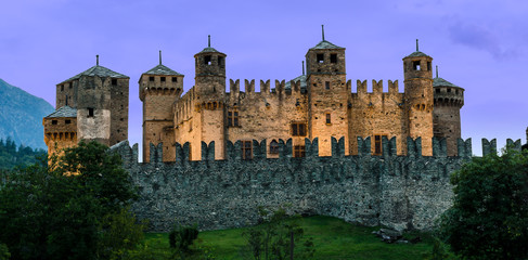 Fenis Castle, Aosta Valley