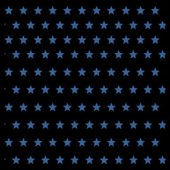 Abstract background of stars arranged in a checkerboard