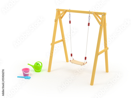 children's swing