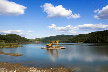 Dredging lake