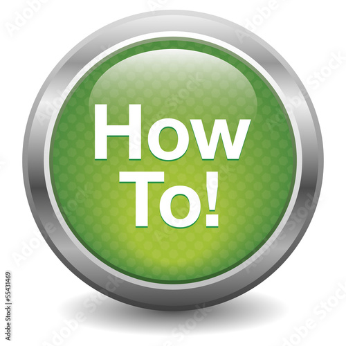 Green how to! button