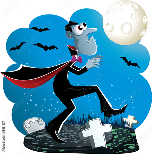 幽灵性质恐怖插图晚上