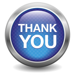 Blue thank you button