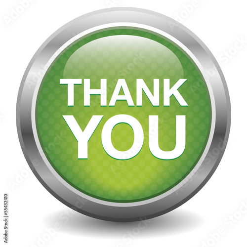 Green thank you button