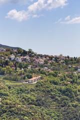 View of Portaria village, Pelio, Greece