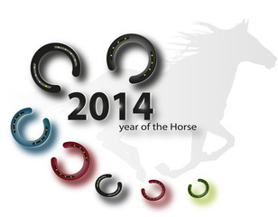 horse - symbol of New Year