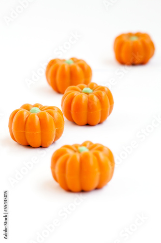 Halloween pumpkin candy