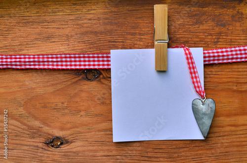 Notiz Zettel Holz Hintergrund