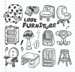 doodle Furniture icons