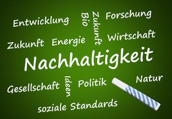 Nachhaltigkeit (nachhaltig, Energie)