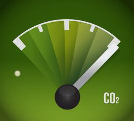 co2 gas tank. eco friendly illustration