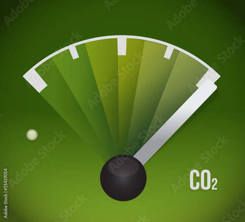 co2 gas tank. eco friendly illustration