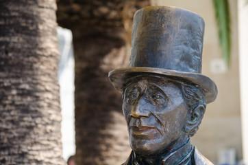 Estatua de Hans Christian Andersen