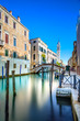 Venice S. Giorgio dei Greci water canal and church. Italy - 55440265