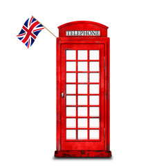 Phone booth, London
