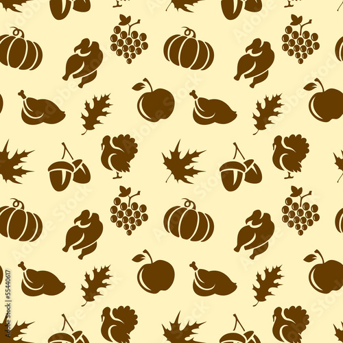 Thanksgivin Seamless Pattern