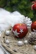 Weihnachtsapfel mit Sternen