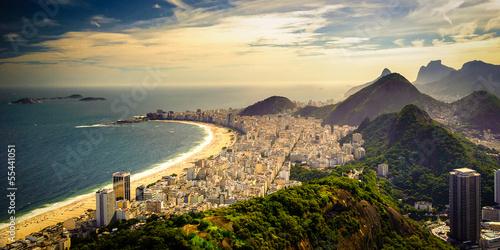 Poster Copacabana Beach