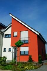 modernes Wohnhaus  mit Pultdach