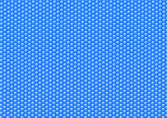 Beehive background blue