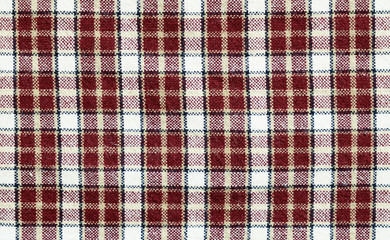 Checkered fabric