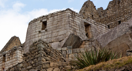Temple of the Sun at Machu Picchu