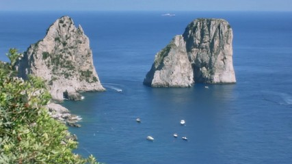 Faraglioni di Capri Italy