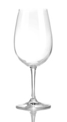 Wineglass, isolated on white