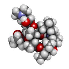 Azithromycin antibiotic drug (macrolide class)