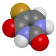 Fluorouracil (5-FU, FU) cancer chemotherapy drug