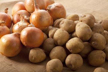 ジャガイモと玉葱