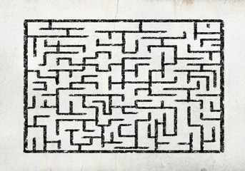 Abstract maze