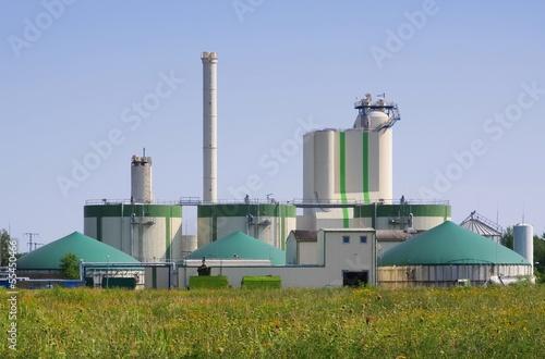 Biogasanlage - biogas plant 88 - 55450466