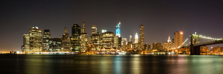 Downtown New York at Night