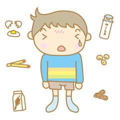 食物アレルギー 子ども
