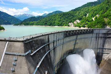Kurobe Dam, Japan