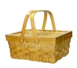 Bamboo basket whit lid