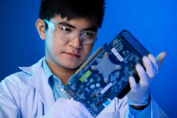 Video card repairing