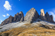Tre Cime Di Lavaredo mountains