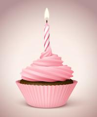 Cupcake vectoriel 2