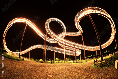 Tiger and Turtle 2