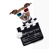 clapper dog - Fine Art prints