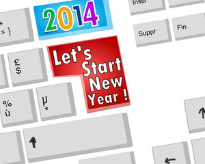 2014 : let's start new year