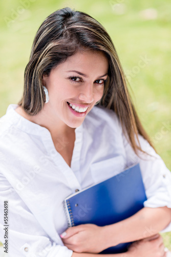Portrait female student