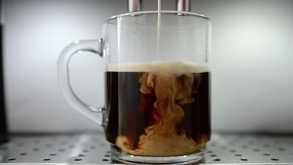 Kaffe mit Milch